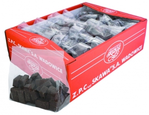 """""""Mini"""" wafers with cocoa filling ,  wafers coated with dark chocolate in bulk"""